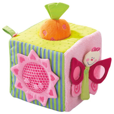 Haba Little Garden Discovery Cube contemporary-baby-toys