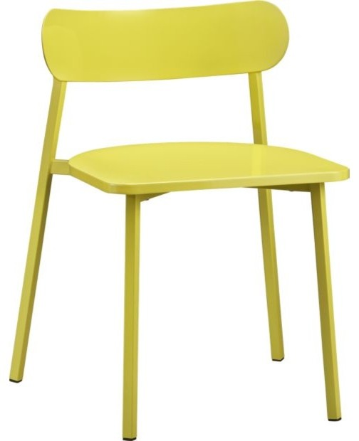 Fleet Chartreuse Chair modern chairs