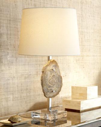 Petrified Wood Lamp traditional-bathroom-lighting-and-vanity-lighting