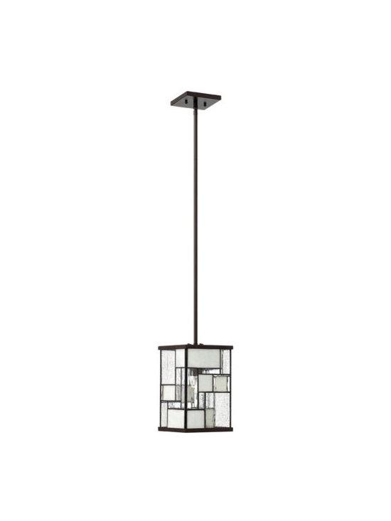 Hinkley Lighting 4577KZ 1 Light Mid-Pendant Mondrian Collection -