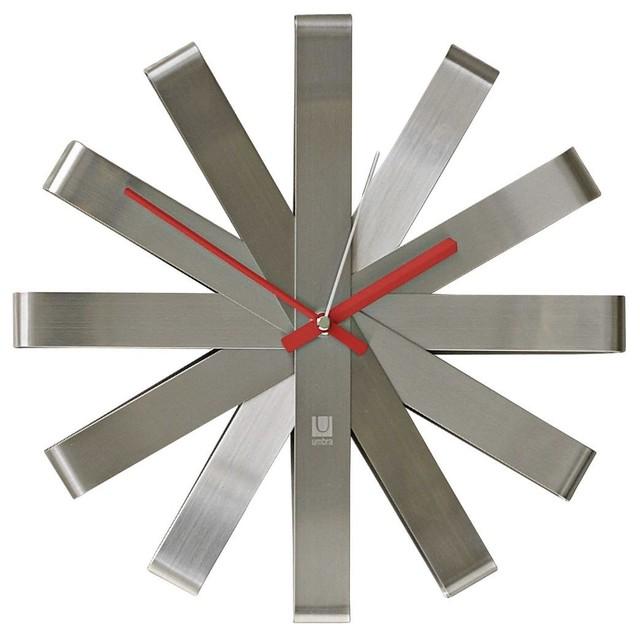 Homewares Decorator Items Clocks Big Time Ribbon