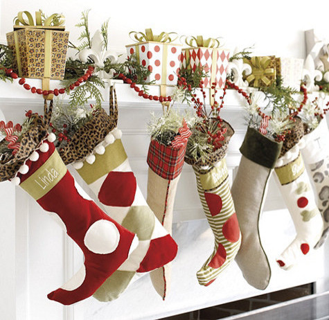 contemporary holiday decorations by Ballard Designs