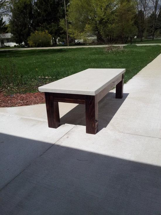 Gfrc White Concrete Countertop -