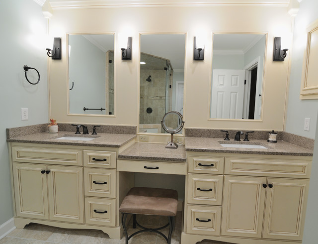 Cambria Bathroom - Vanity Tops And Side Splashes - atlanta - by CR Home Design K&B (Construction ...
