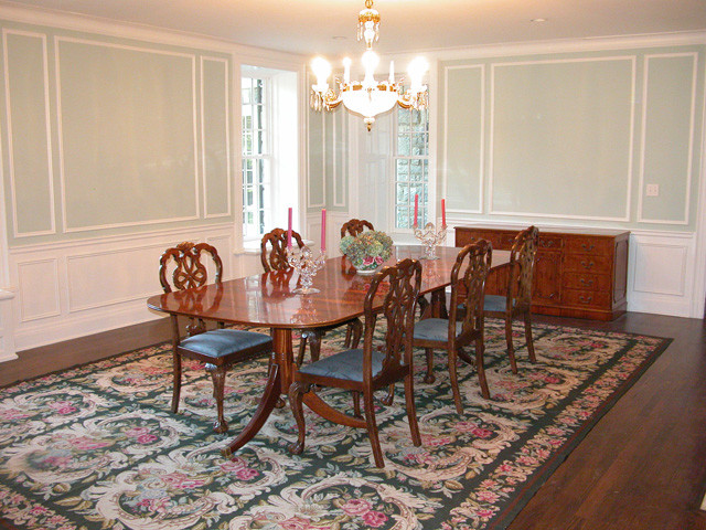FINISHES traditional-dining-room