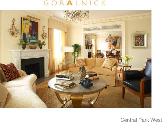 Barry Goralnick contemporary-living-room