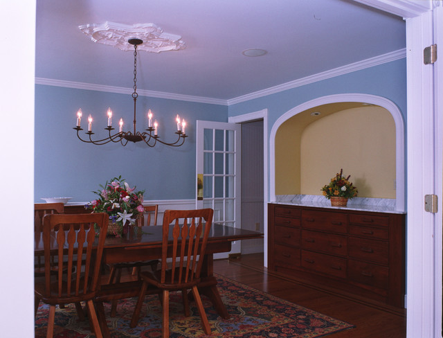 Kitchen And Great Room Addition traditional-dining-room