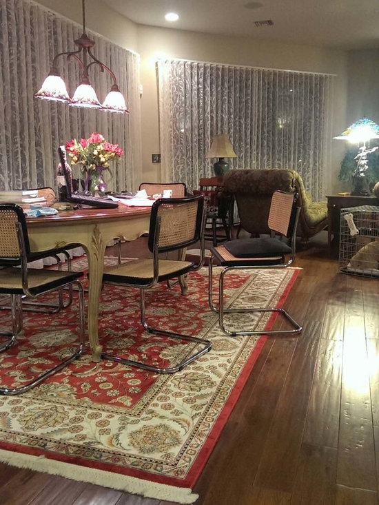 """Our Customers. - Our customer, D. Klein in Florida purchased fabric from us and had custom Lace Sheers made.  If you look closely the pleats are in the style of """"beauty pleats"""" or """"ripple fold"""". The results are just great.  Every pleat is perfect."""