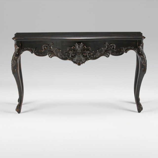 maison by ethan allen joelle carved console traditional-side-tables-and-end-tables