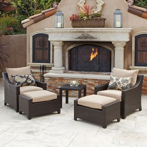 RST Delano Club Chairs with Side Table contemporary-patio-furniture-and-outdoor-furniture
