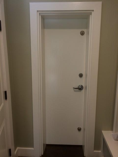 Freeman Home Safe Room Doorway With 3 Point Security Dead