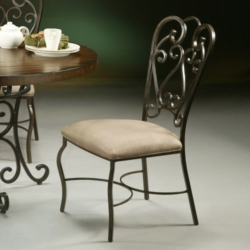 Pastel Magnolia Side Dining Chair traditional-dining-chairs