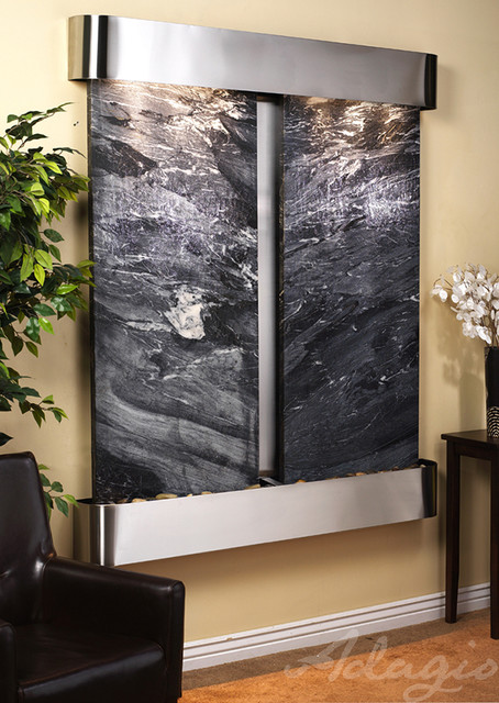 The Cottonwood Falls Indoor Fountains traditional-indoor-fountains