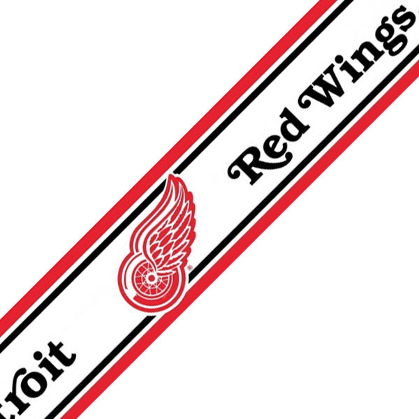 red wings wallpaper border - photo #2