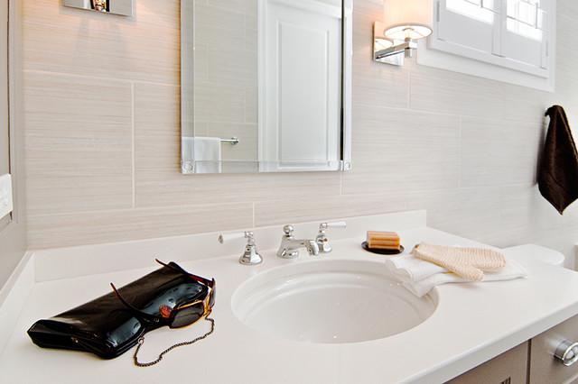 Guest Baths contemporary-bathroom