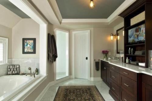 Saratoga s best luxury master bathroom for Luxury contemporary master bathrooms