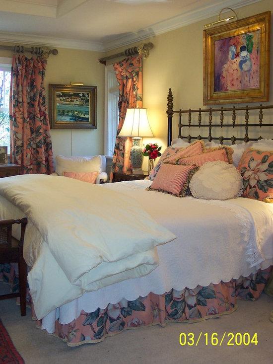 Pamela Foster & Associates, Inc. - Master bedroom design, construction and interiors by Pamela Foster & Assoc, Inc.  Photo credit Pamela Foster