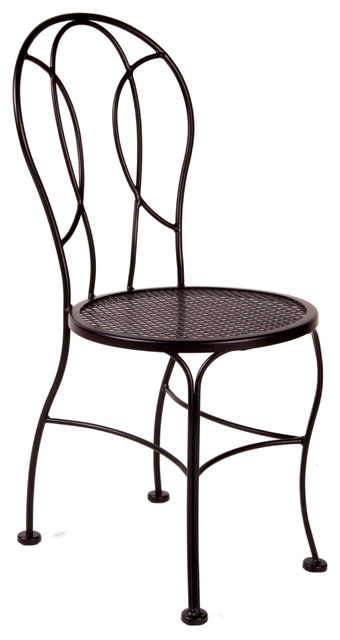 ... Bistro Dining Chairs Bistro Soleil Side Chair Eclectic Dining Chairs  Milwaukee By Timeless Wrought Iron ...