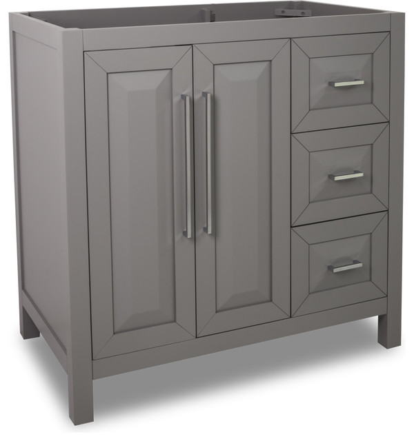 Lyn Design VAN100 36 36 Vanity Contemporary Bathroom Vanities And S