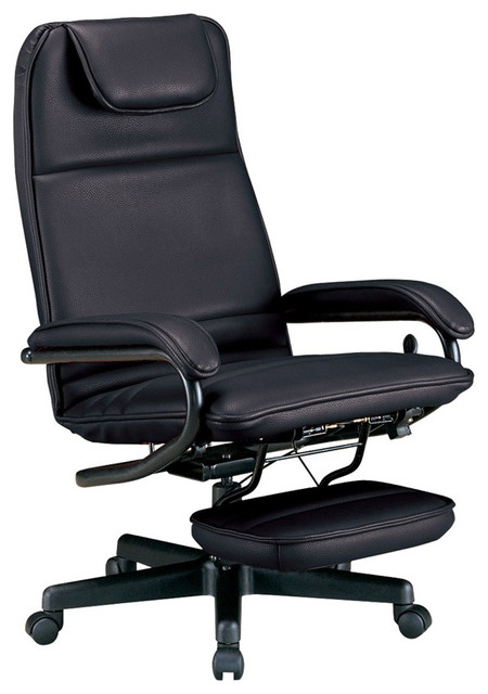 Black Power Rest Barrister Executive Recliner Office Chair Office Chairs