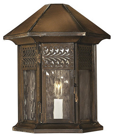 Belfort Outdoor Wall Sconce traditional-wall-lighting