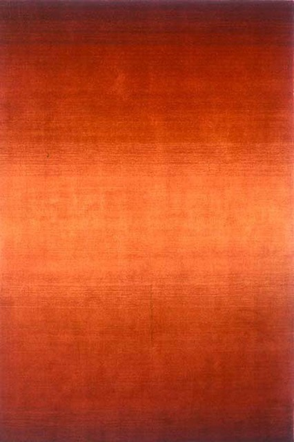 Tranquility Area Rug, Paprika contemporary rugs