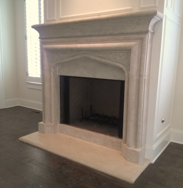 Limestone Fireplace Surrounds Atlanta By Artistic Accents