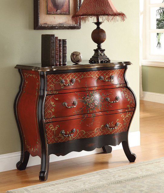 Iden Cherry Bombay Chest Traditional Accent Chests And Cabinets New York By Dexter Sykes