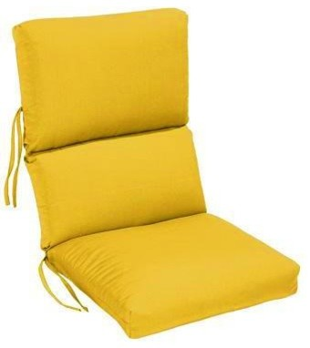Outdoor High Back Chair Cushion traditional outdoor