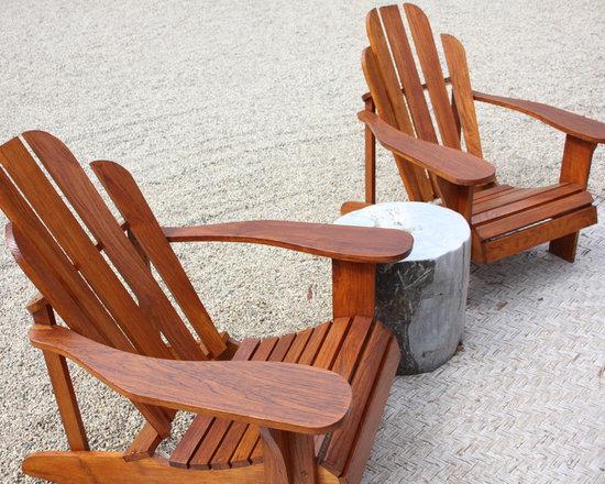The Best Teak Adirondack Chairs from Bali -