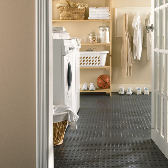 Utility Tile Laundry Room Flooring Toronto By Multy Home