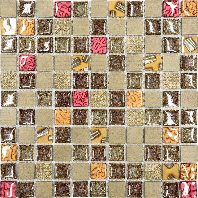 Colored Tiles For Mosaic