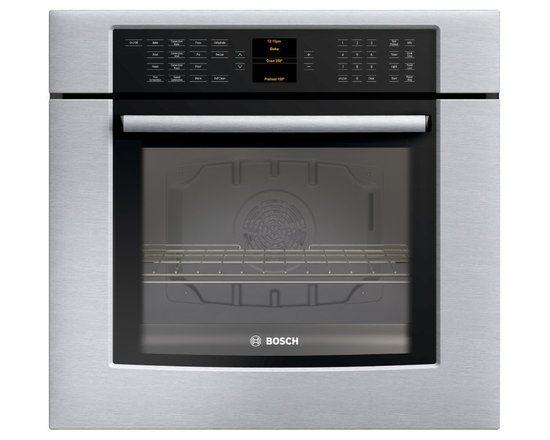 """Bosch 30"""" 800 Series Single Wall Oven With Convection, Stainless 
