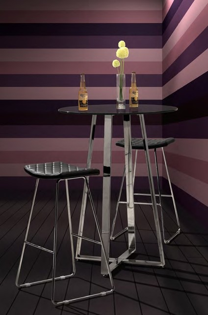 Zuo - Crescent Barstool in Black modern-bar-stools-and-counter-stools