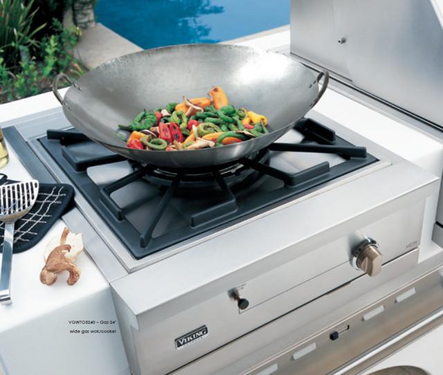 Viking vgwto5240nss 26 built in gas wok cooker woks for Viking wok burner