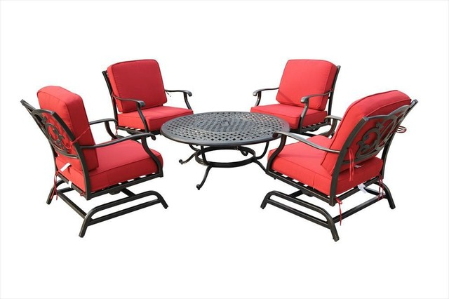 Kontiki Conversation Sets Metal Chat Sets Modern Outdoor Lounge Sets