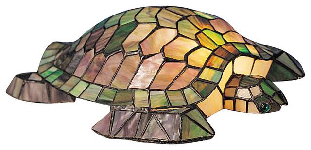 Meyda Tiffany Meyda Originals Table Lamp in Copperfoil rustic-table-lamps