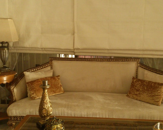 house in Lahore, pakistan - this is a traditional sofa with wood work