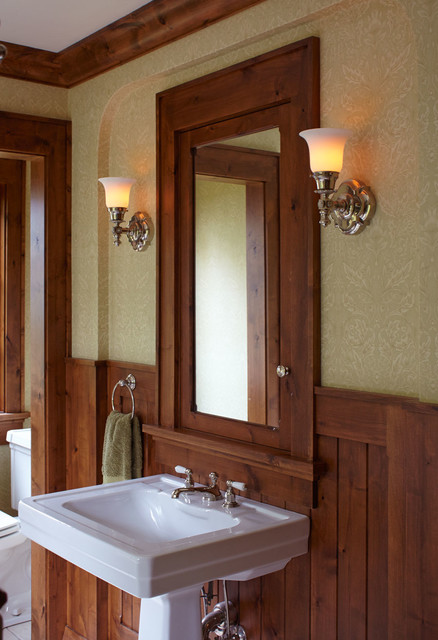 Bathroom wall sconces traditional bathroom vanity for Traditional bathroom wall lights