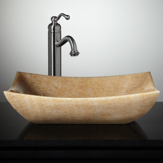 New Stone Vessel Sinks - Eclectic - Bathroom Sinks - cincinnati - by ...