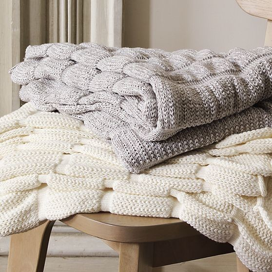 Organic Ruched Throw traditional throws