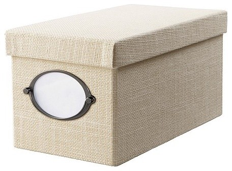 KVARNVIK CD box with lid - Contemporary - Storage Bins And Boxes - by IKEA