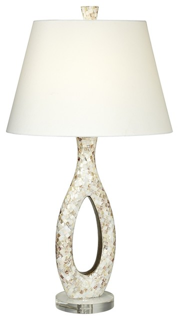mother of pearl table lamp contemporary table lamps by lamps. Black Bedroom Furniture Sets. Home Design Ideas