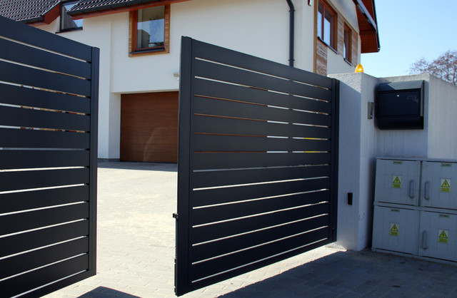 Arete Horizon Contemporary Home Fencing And Gates Other Metro