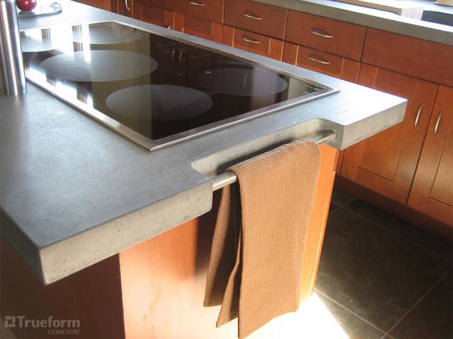 Concrete Countertops contemporary-kitchen