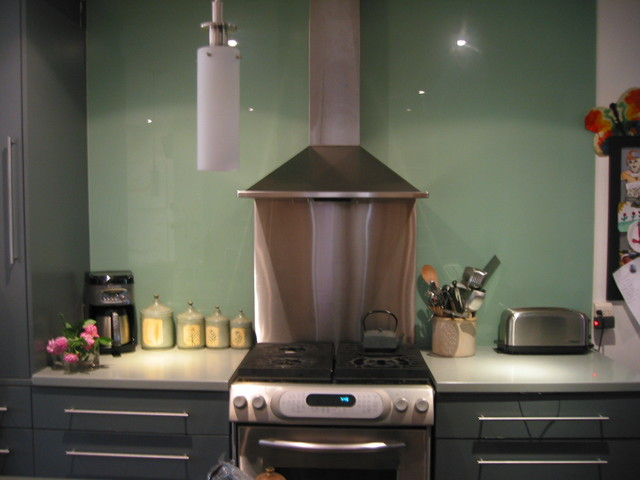 Riverdale Ave. contemporary-kitchen