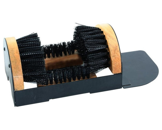 Buffalo Tools - Boot and Shoe Brush - The stiff bristles remove the grass and gunk that stick to the bottom of your shoes and boots so you leave dirt outdoors, not on your floors. Use at home in the mudroom to keep your wife happy, in the office to keep cleaning costs down, or while out camping to keep cramped living areas clean. 9.5 in. L x 6.5 in. W x 4.5 in. H (3 lbs)