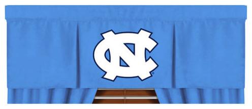 NCAA North Carolina Tar Heels Valance MVP Window Treatment modern