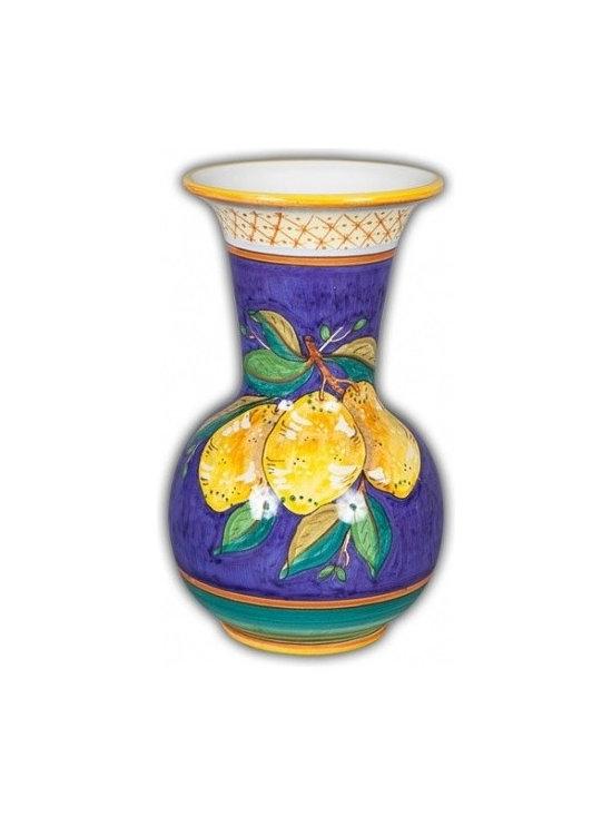 Ceramic - Uva Fresca Limone Fresco Trumpet Vase - Uva Fresca Limone Fresco Trumpet Vase