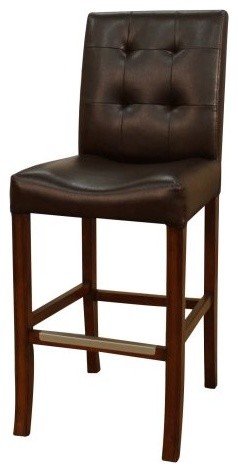 American Heritage Walterboro Counter Height Stool - Set of 2 contemporary-bar-stools-and-counter-stools